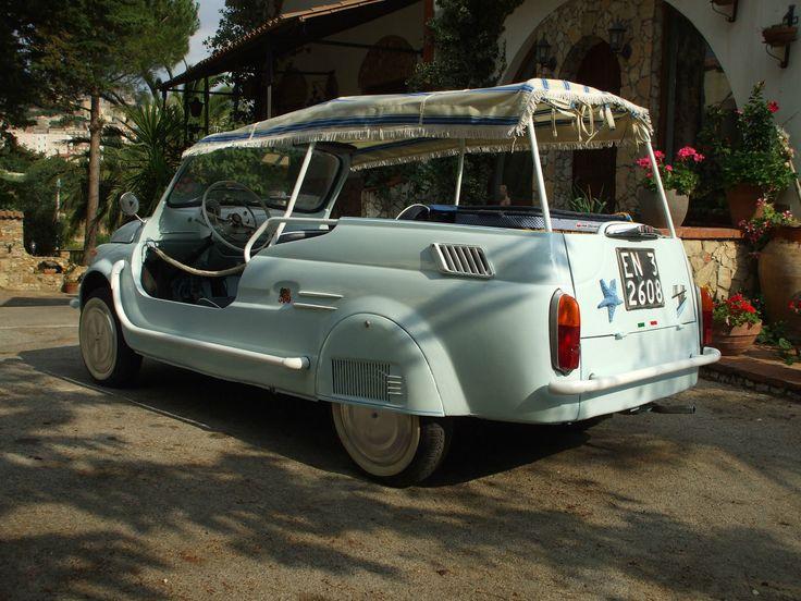 '71 Fiat 120 Nuova 500 Giardiniera Spiaggina Jolly