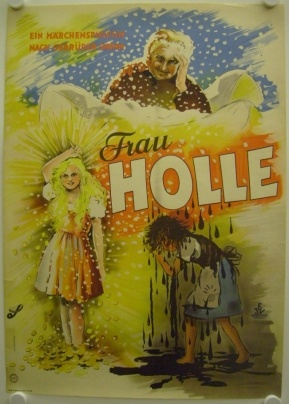 Frau Holle: I looked up the fairy tale, very cute.