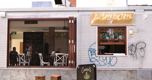 pawpaw cafe woolloongabba brisbane
