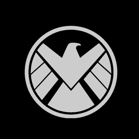 Agents Of Shield Inspired Vinyl Sticker Etsy Agents Of Shield Marvel Agents Of Shield Shield Tattoo
