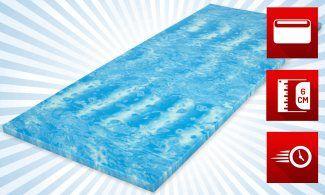 Matratzenheld Robin Gelschaum-Topper online kaufen gute Matratzen bei matratzendiscount.de #Matratze #Gelschaumatratze