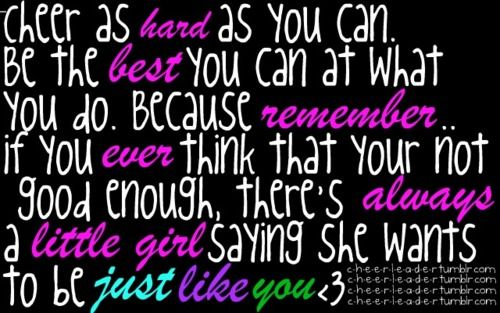 cheer quote tumblr cheer quotes pinterest