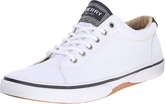 Sperry Top-Sider Men's Halyard LTT White Sneaker 9.5 M (D)