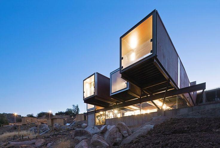 Сборный дом из контейнеров в Чили - Дизайн интерьеров | Идеи вашего дома | Lodgers