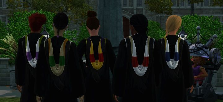 The Sims 3 University Life: Majors, Attending Class and Graduating