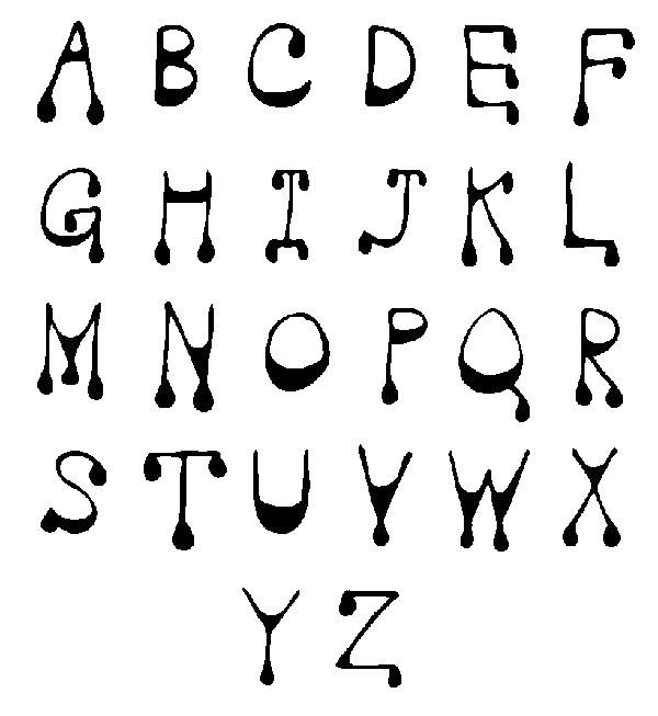 letter art font 1000 images about alphabet fonts on 6670