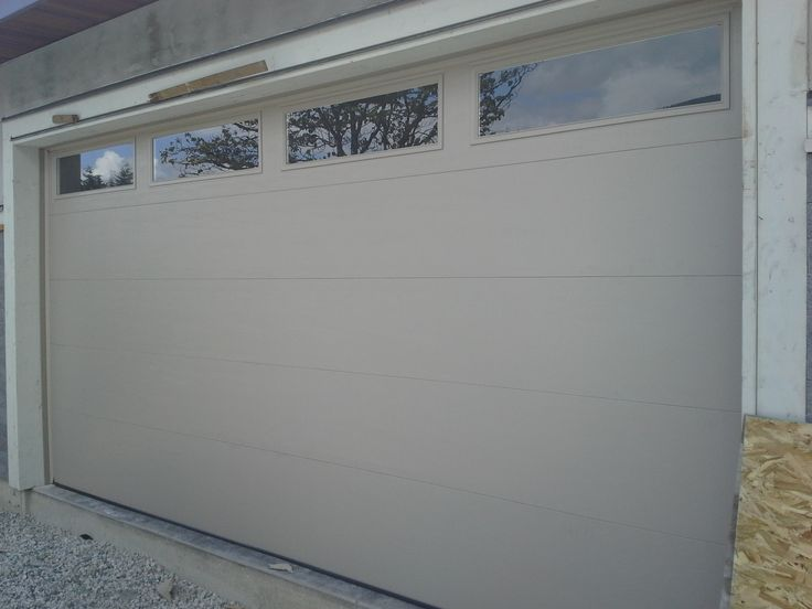 Northwest Doors T108 Flush Panel Garage Door West
