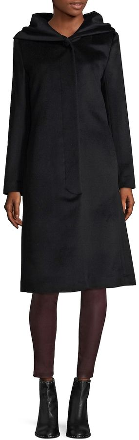 Cole Haan Women's Long Wool Coat