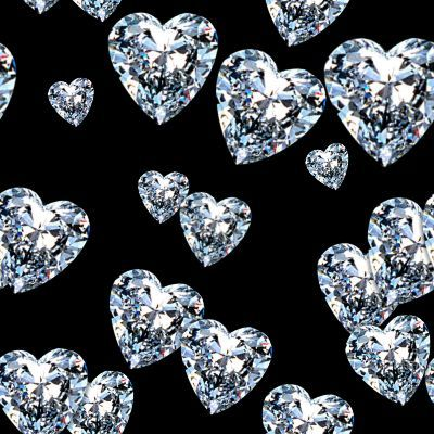 Shine Bright Like A Bling Ring Diamond Heart Heart