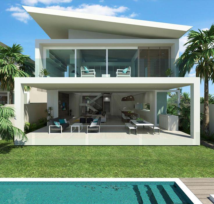 EDGEWATER ON HILTON | Chris Clout Design · Outdoor AreasDream HomesBeach ... Part 62