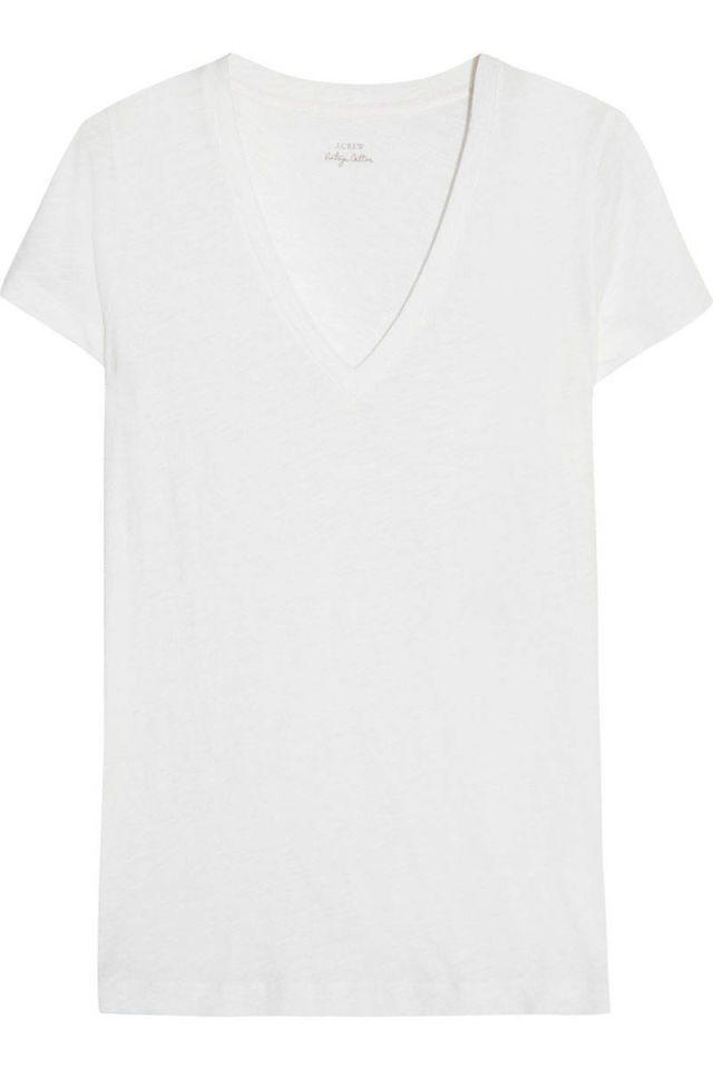 Plain white t shirt