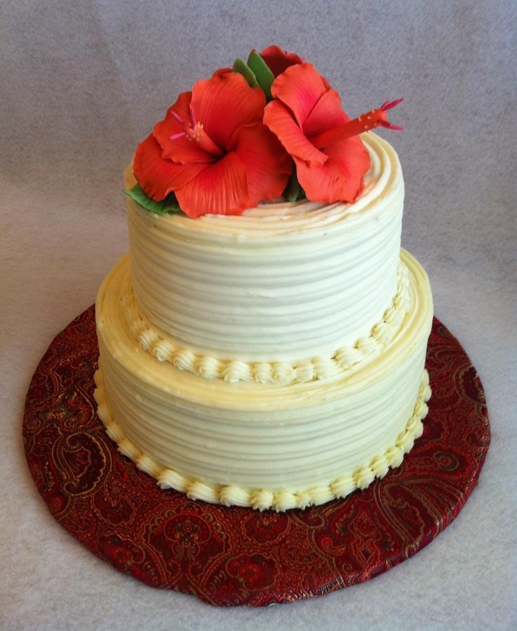 August 2012 50th Birthday Cake Italian Cream Cake With