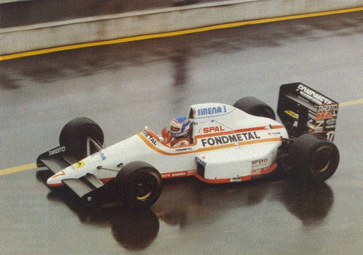 1989 Osella FA1M89 - Ford Nicola Larini