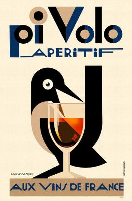 Art Deco Poster.                                                                                                                                                                                 Más