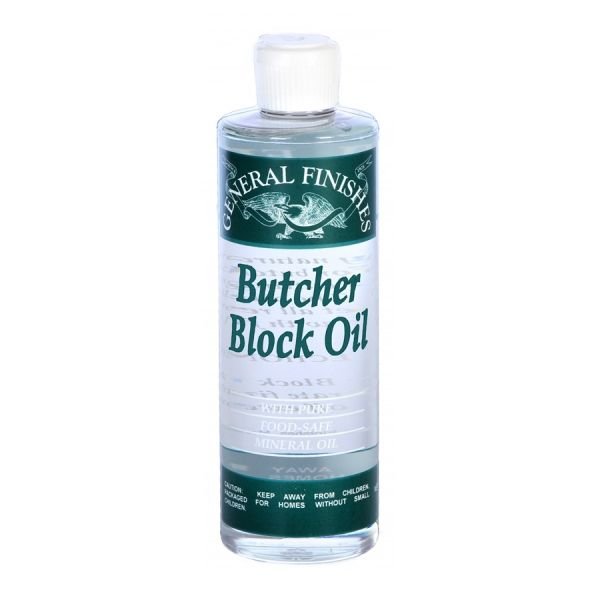 Butcher Block Oil By General Finishes