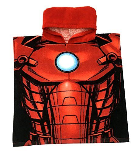 From 3.99:Marvel Avengers / Spiderman Hooded Poncho Beach Towel Bath Swimming Towel Boys Kids Childrens One Size | Shopods.com