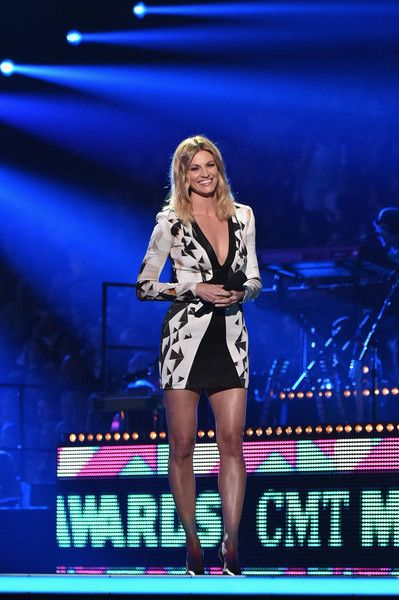 Erin Andrews Photos Photos - Host Erin Andrews onstage during the 2016 CMT Music…