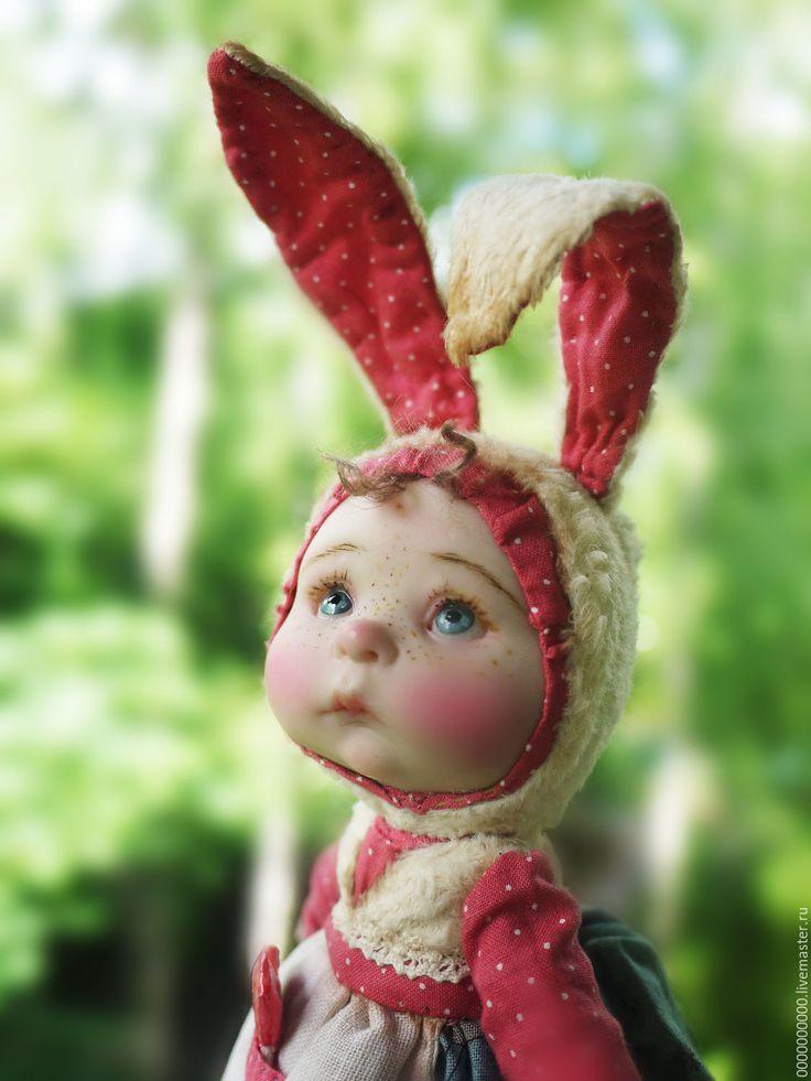 Купить Соня - тедди долл, заяц тедди, заяц друзья тедди, малышка
