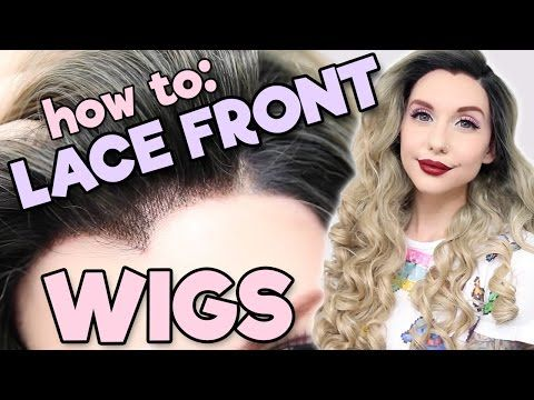 How to: Lace Front Wigs | Alexa's Wig Series #6 - YouTube