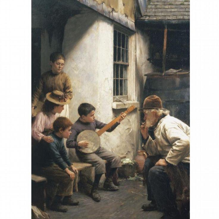 walter langley | Lot 166: WALTER LANGLEY, R.I. 1852-1922