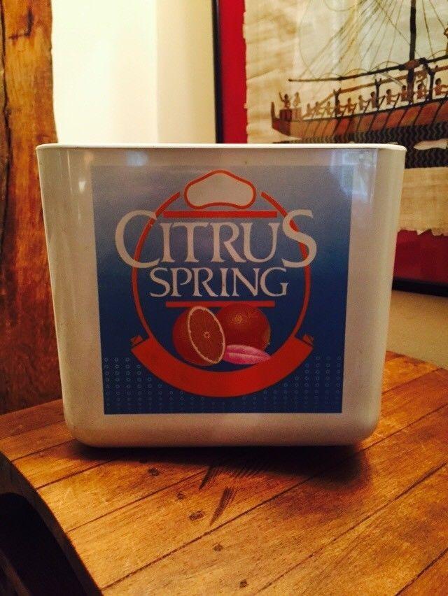 Vintage Britvic Ice Bucket Citrus Spring (Plastic)
