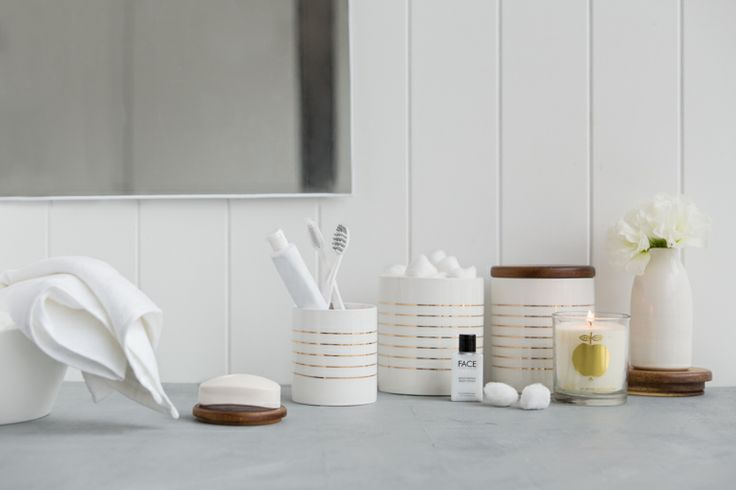 Homewares Canisters - Bathroom