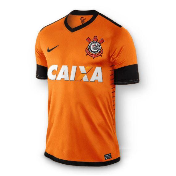 Sport Club Corinthians Paulista - Projeção da camisa do Corinthians de 2015 - Laranja...uniforme III