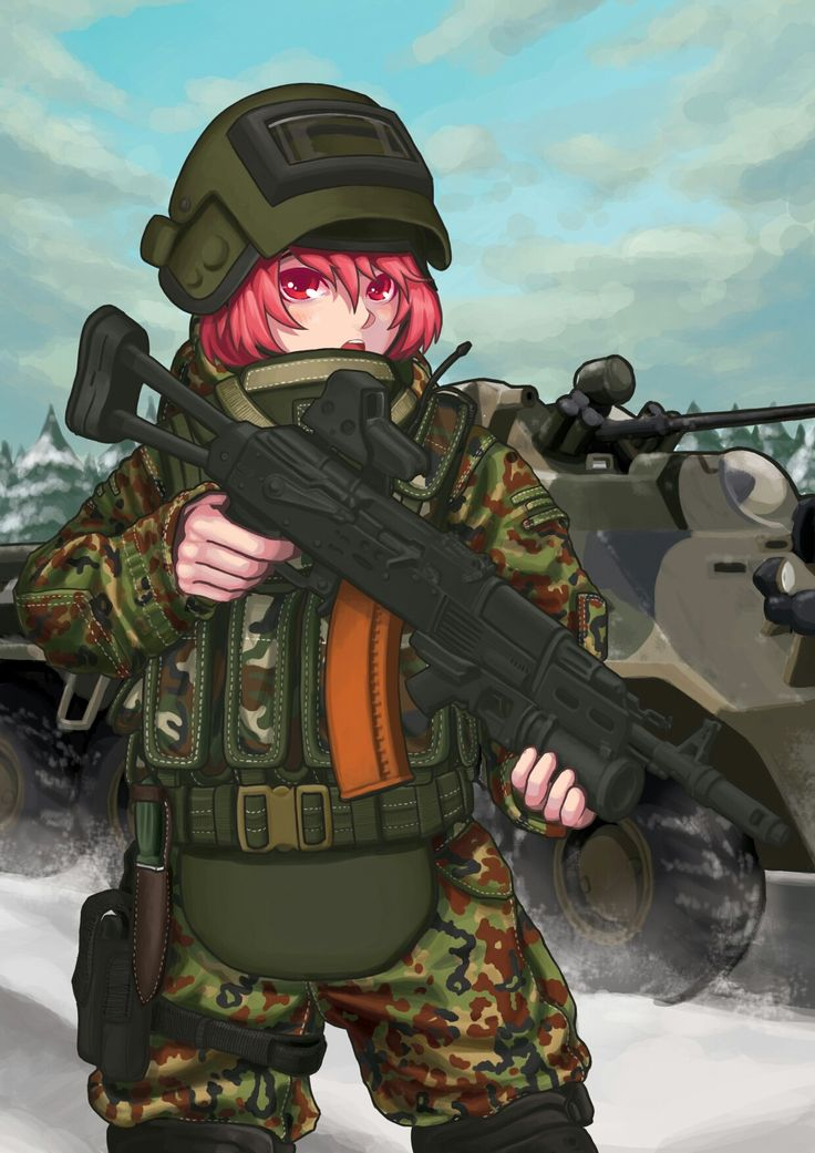 russian military anime
