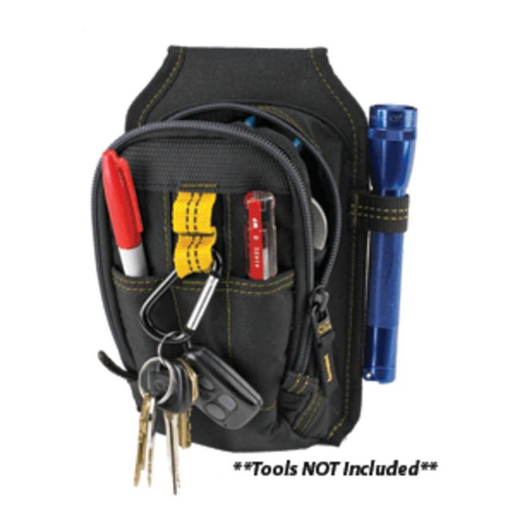 CLC 1504 9 Pocket Mult-Purpose Carry-All Tool Pouch