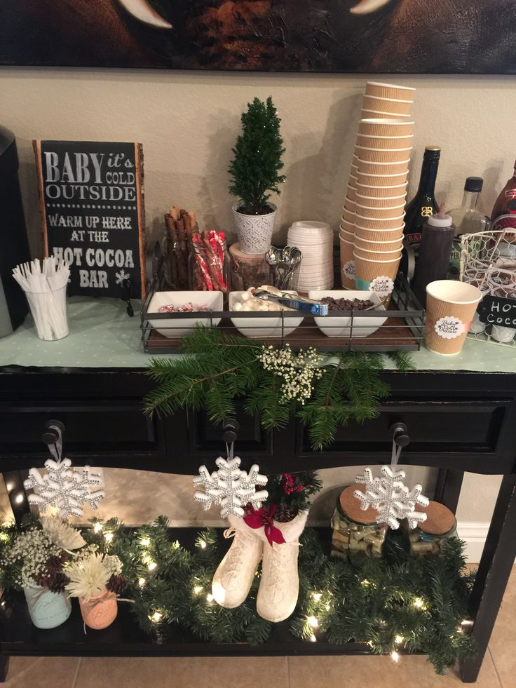 Rustic Baby It S Cold Outside Baby Shower Party Ideas
