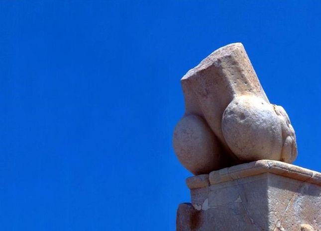 Wait...is that...? Delos Archaeological Sites