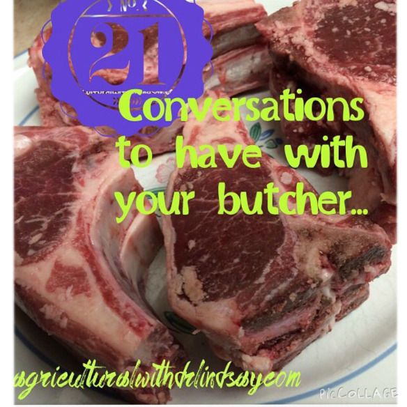 Butchers, are you talking to yours? 21 conversations you should be having (if you are not already) | Agricultural with Dr Lindsay