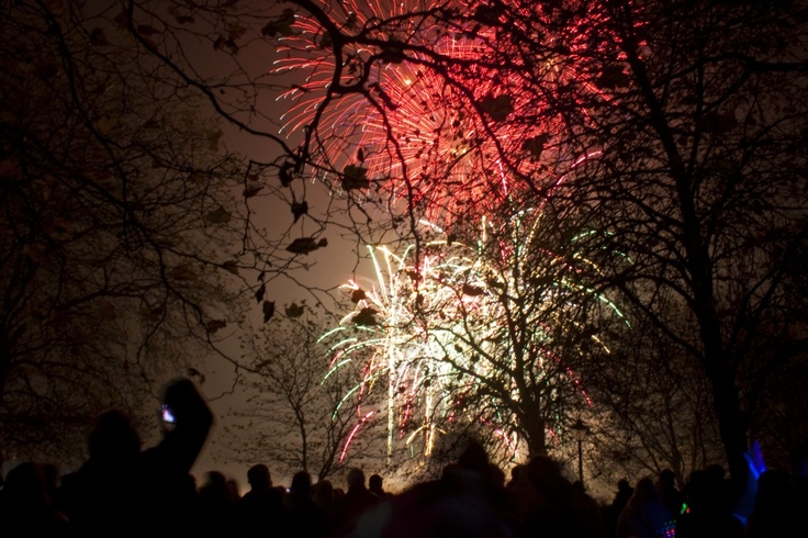 Fireworks at Sefton Park. <3