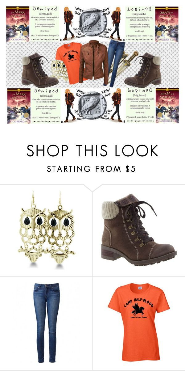 """""""Annabeth-The Mark Of Athena"""" by nyssa-fire ❤ liked on Polyvore featuring Skechers and Paige Denim"""