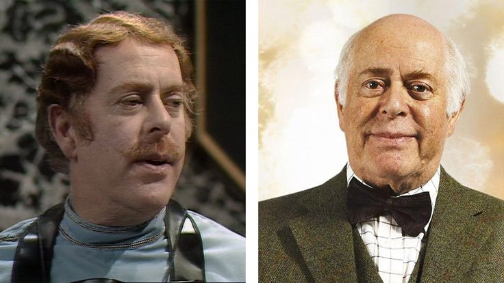 Clive Swift as Jobel in 'Revelation of the Daleks' and as Mr Copper in 'Voyage of the Damned'