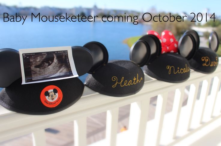 Disney Pregnancy Announcement: Baby Pip, Baby Mouseket, Baby Berries, Announcements Kind, Baby Announcements, Announcements Ideas, Baby Numbers, Disney Pregnancy Announcements, Disney Baby