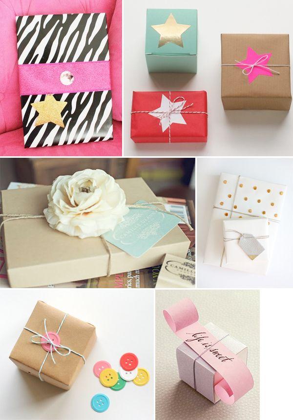 Cadeaus inpakken ideeën   Shopperella