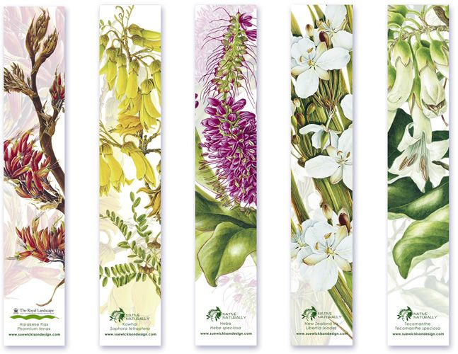Graphic Design / Bookmark Designs For Native Naturally