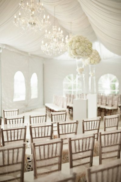 Romantic indoor weddingWedding Ceremonies, Wedding Photography, Flower Ball, White Wedding, Bald Head Islands, Tents Wedding, Events Photography, Chairs Covers, Events Plans