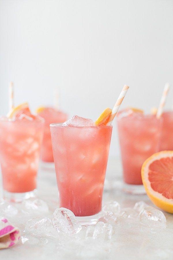 Sparkling Grapefruit Bikini Cocktail - Sugar and Charm - sweet recipes - entertaining tips - lifestyle inspiration