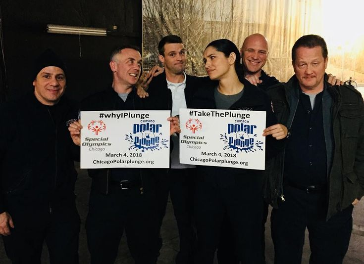 We are excited Chicago Fire cast supports the #ChicagoPolarPlunge again this year! Come Plunge with us on March 4th! http://chicagopolarplunge.org