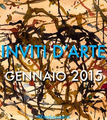 Inviti d'Arte: gennaio 2015 @metastasio @teatrosancarlo @teatroallascala @palazzostrozzi @maggiomusicale
