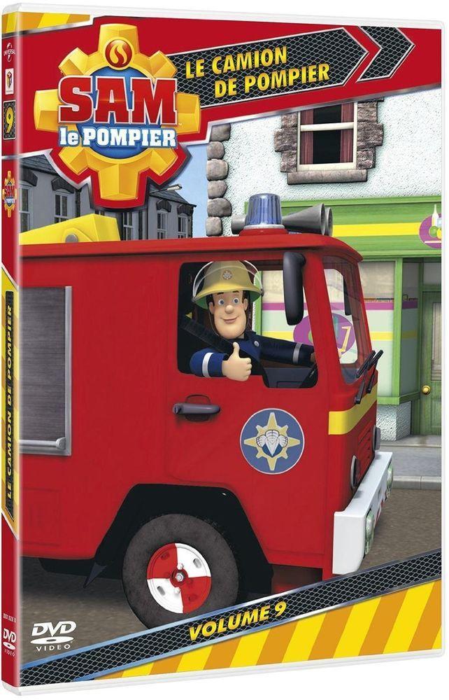 Sam le Pompier - Volume 9 : Le camion de pompier - DVD NEUF SERIE TV