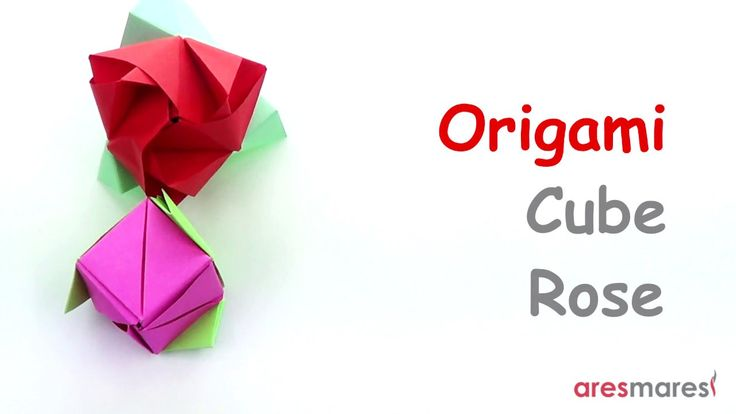 Origami Cube Rose (easy - modular) Very easy if you pay attention!!! #origami #unitorigami #howtomake #handmade #colorful #origamiart #diy #doityourself #paper #papercraft #handcraft #paperfolding #paperfold #paperart #papiroflexia #origamifolding #instaorigami #interior #instapaper #craft #crafts #creative #hobby #оригами #折り紙 #ユニット折り紙 #ハンドメイド #カラフル #종이접기 #اوريغامي