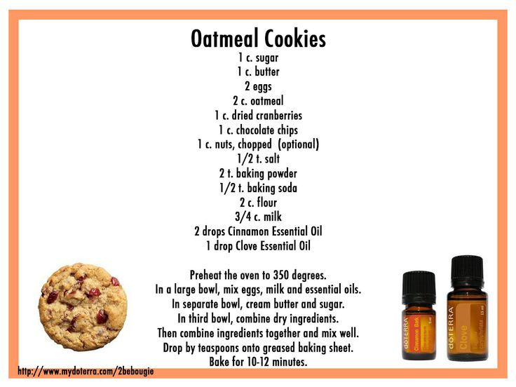 Favorite Cookies Recipe. Great for the holidays.  http://mydoterra.com/michellhatch