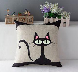 Decoração com gatos!