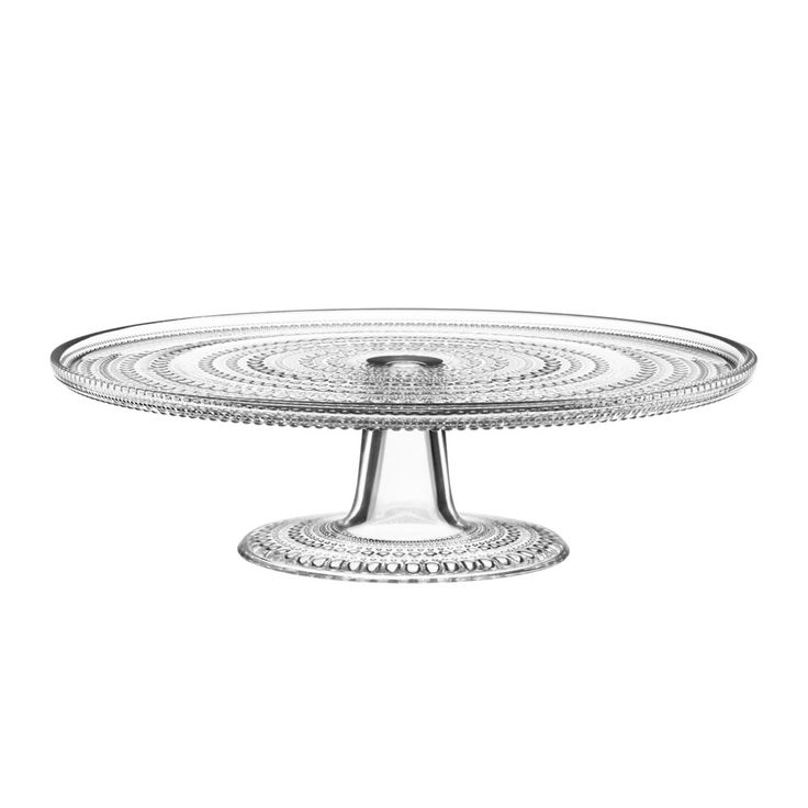 Kastehelmi Cookie Plate, Clear $73. - RoyalDesign.com