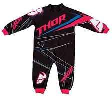 Thor Mx Clothing 2014 Stripe Pink Onesie Girls Motocross Dirt Bike Baby Pajamas