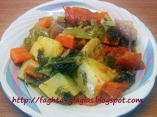 Λαχανικά γιαχνί - από «Τα φαγητά της γιαγιάς»