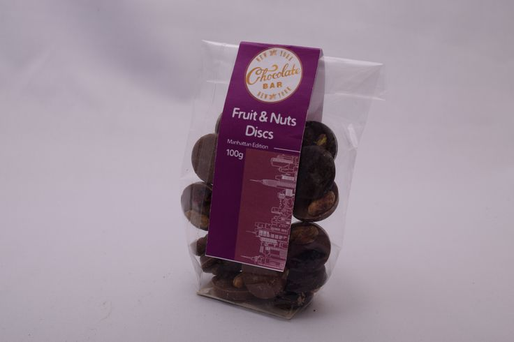 Fruit & Nuts Discs - Manhattan Edtion 100g net